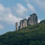 alpes πέτρα Στοκ Φωτογραφίες