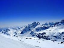 alpes австрийские Стоковые Фотографии RF