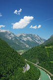 Alpes Photographie stock