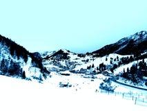alpes Imagens de Stock Royalty Free