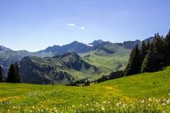 Alpes Fotografie Stock Libere da Diritti
