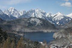 Alpes allemands Photographie stock libre de droits