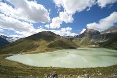Alpes alpinos Fotografia de Stock Royalty Free