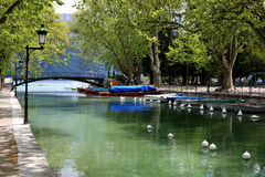 alpes Annecy de la France Photo stock