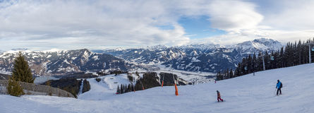 Alpes austríacos Fotografia de Stock