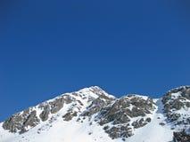 Alpes autrichiennes en hiver images libres de droits