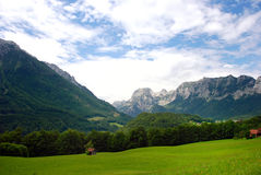 Alpes autrichiens Photographie stock