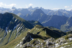 Alpes bavarois Photographie stock
