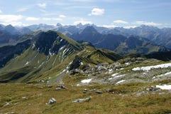 Alpes bavarois Photos stock