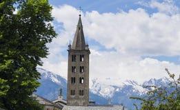 Alpes blu profondo Immagini Stock Libere da Diritti