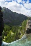 Alpes blu profondo Fotografia Stock Libera da Diritti