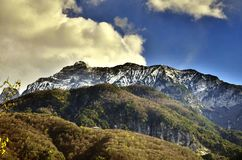 Alpes carniche friuli Stock Photography