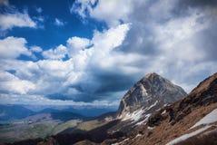 Alpes d'Apuan, mt Sumbra photographie stock libre de droits
