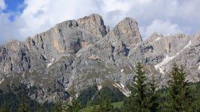 Alpes da dolomite Fotos de Stock Royalty Free