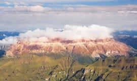 ALPES DA DOLOMITE, ITALY Foto de Stock Royalty Free