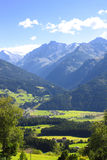 Alpes dans le Tirol, Autriche Photographie stock