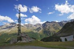 Alpes dans le Vinschgau Photo libre de droits