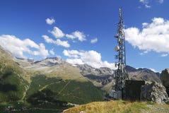 Alpes dans le Vinschgau Photos libres de droits