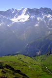 Alpes de Bernese Images stock