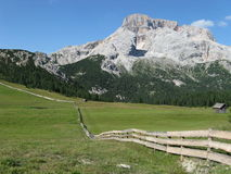 Alpes 1 de dolomites Photo stock