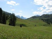 Alpes de dolomites Photo stock