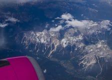 Alpes de dolomites de l'Italie Photos libres de droits