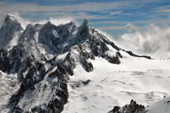 Alpes de Franch Fotos de Stock Royalty Free