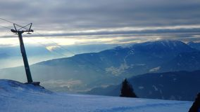 Alpes de Gerlitzen Autriche images libres de droits