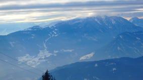 Alpes de Gerlitzen Autriche Photo libre de droits