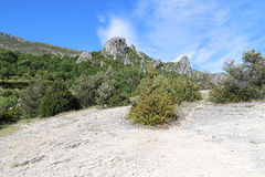 Alpes-De-Haute-Provence Fotografia Stock Libera da Diritti