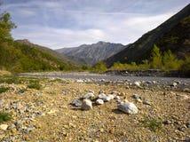 Alpes-De-Haute-Provence; Vallee du Bes della La Fotografie Stock