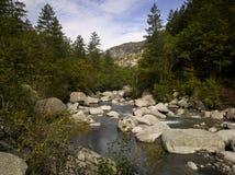 Alpes-De-Haute-Provence; Vallee du Bes della La Fotografie Stock Libere da Diritti