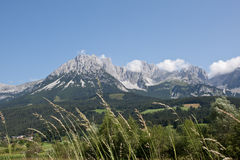 Alpes de l'Autriche Photographie stock libre de droits