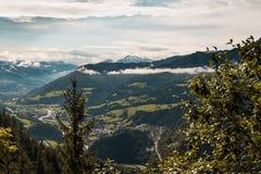 Alpes de l'Autriche Photos libres de droits