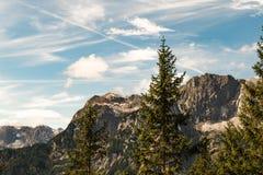 Alpes de l'Autriche Image libre de droits