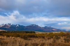 Alpes de la Nouvelle Zélande Photos libres de droits