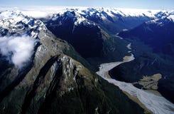 Alpes de la Nouvelle Zélande Images libres de droits