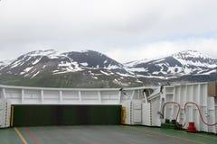 Alpes de Lyngen, Norvège Photographie stock