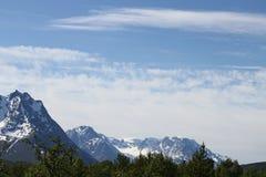 Alpes de Lyngen, Norvège Image stock