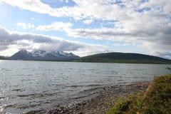 Alpes de Lyngen, Norvège Images stock