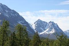 Alpes de Lyngen, Norvège Images libres de droits