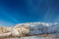 Alpes de montagne Image libre de droits