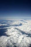 Alpes de montagnes Photos libres de droits