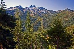 Alpes de trinité Image libre de droits