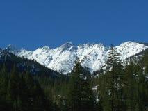Alpes de trinité en hiver Image libre de droits