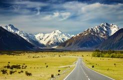 Alpes do sul, Nova Zelândia Fotos de Stock Royalty Free