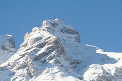 Alpes - dolomites - Italy fotografia de stock