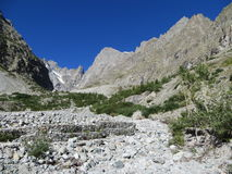 Alpes du sud, Frances Images libres de droits