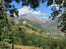 Alpes du sud, Frances Image libre de droits