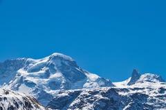 Alpes elevados Imagem de Stock